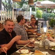 Athens lunch with students