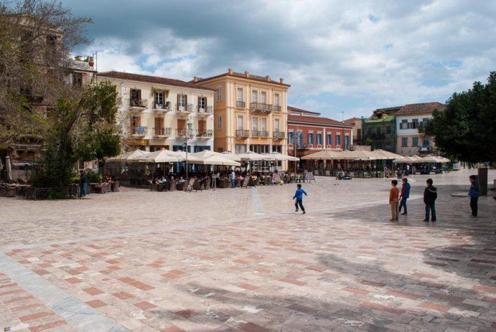 Nafplion square