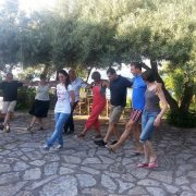 Lefkada Greek dance lesson