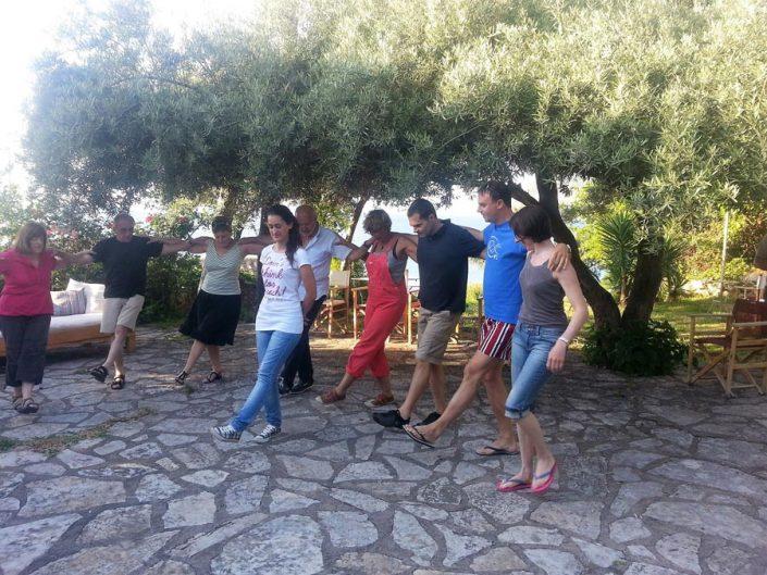 Lefkada Greek dance lesson