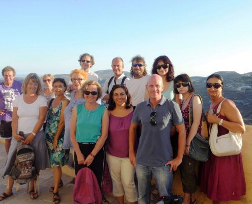 Syros group students
