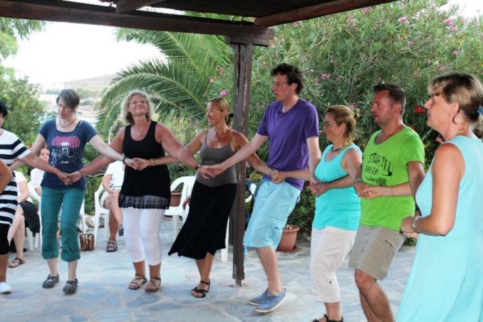 Syros dance lesson