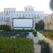 Cinema on Syros island