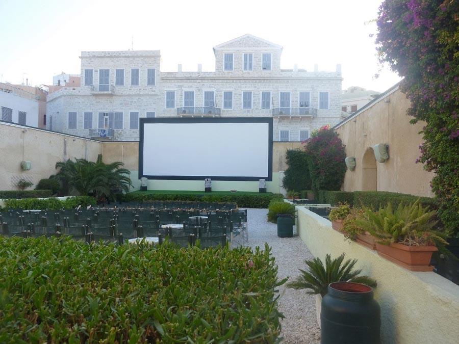 Cinema on Syros island