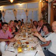 Greek tavern with Omilo