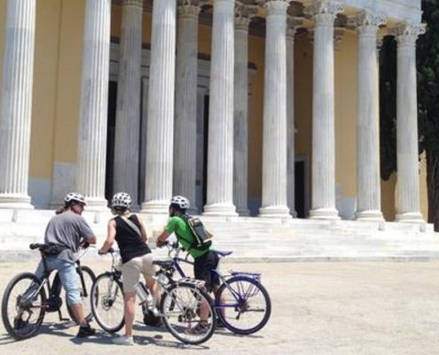 Biking in Athens