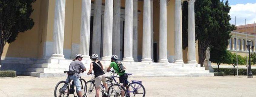Biking in Athens