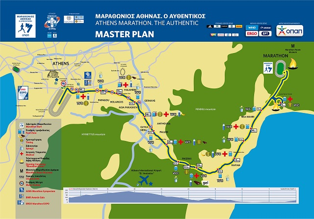 Authentic Marathon Route