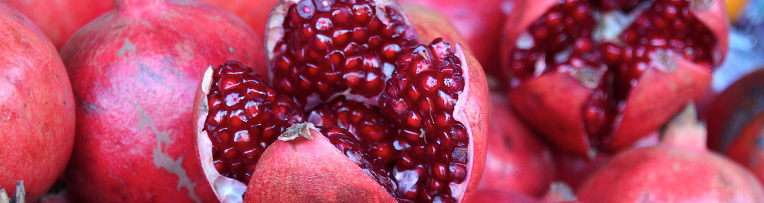 The Pomegranate Brings Good Luck For The New Year Greek