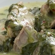 Pork and celery recipe